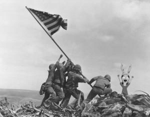 Louise at Iwo Jima