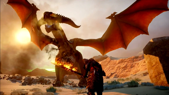 On the other hand, the game has frigging dragons!