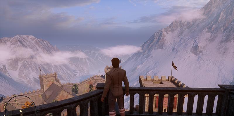 DAI - Skyhold view