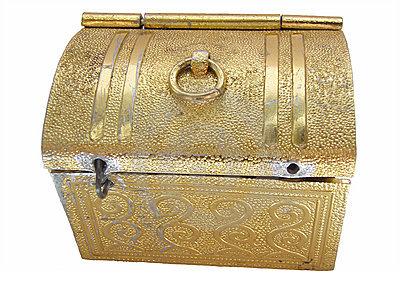 """""""It's a little golden ball box!"""""""