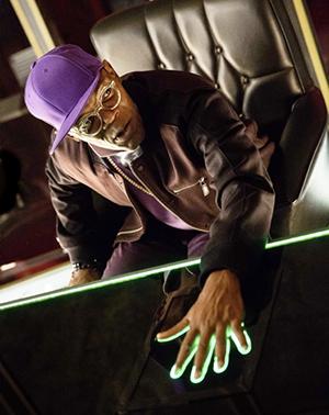 Samuel L. Jackson as Valentine in Kingsman