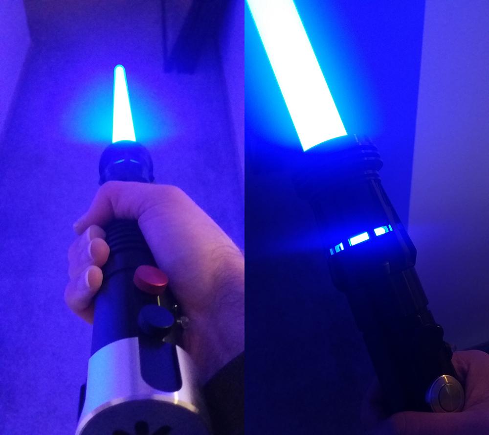 my lightsaber, yet again