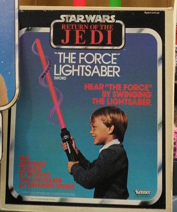 1980s lightsaber